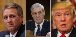 Flake, Mueller and Trump
