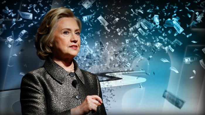 Hillary money
