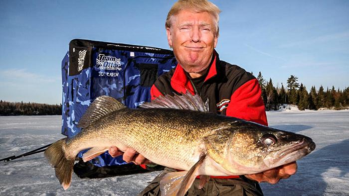 trumpicefishing