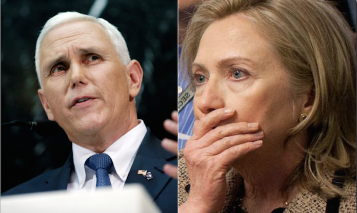 Mike Pence Just Took On Hillary's Benghazi Record And ...