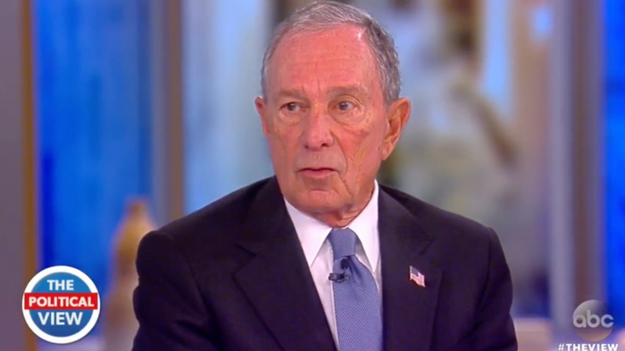 Bloomberg Tells The Idiots On The View To Shut Up And