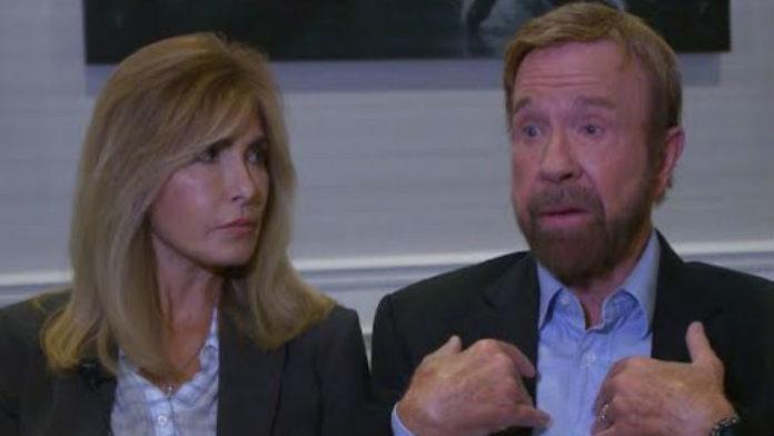 Chuck Norris Shocks Fa...