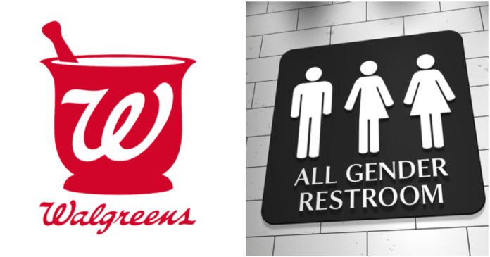 Walgreens New Bathroom Policy Allows Customers Access Based