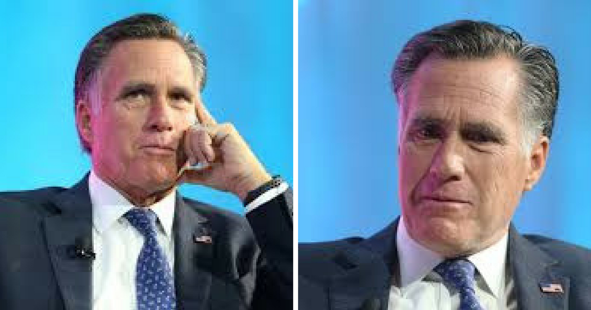 Mitt Romney's Place In The US Senate Doesn't Look So Certain After All...