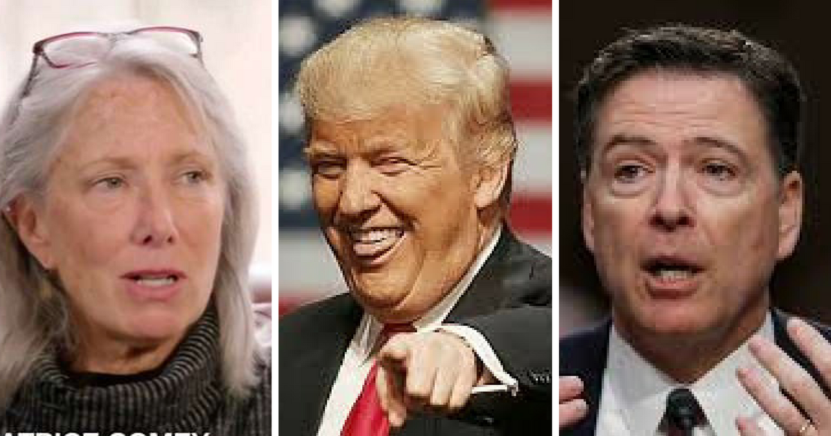 Comey S Wife Devastated When Hillary Clinton Lost: Boo-Hoo: James Comey's Wife Is Still Complaining About