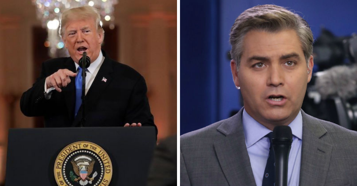 White House Loses Patience With Jim Acosta, Goes After ...